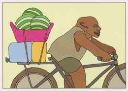 Cpm 1741/360 ERGON - Homme à Bicyclette  - Vélo - Cyclisme - Bicycle - Cycle - Illustrateurs - Illustrateur - Ergon
