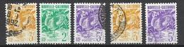 Nouvelle Calédonie Poste   N° 603;604 X2 Et 606 X 2  Le Cagou Oblitérés  B/ TB          Soldé à Moins De 20 % ! ! ! - Neukaledonien