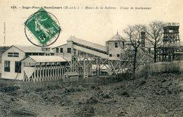 49   SAINT  PIERRE MONTLIMART  MINES DE LA BELLIERE  USINE DE TRAITEMENT - France