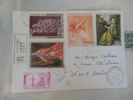 LETTRE RECOMMANDE DE FRANCE - Marcophilie (Lettres)