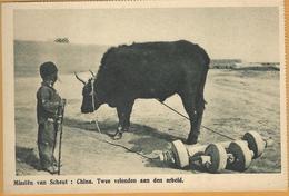 PRv-741: Missiën Van Scheut: CHINA. Twee Vrienden Aan Den Arbeid - Chine