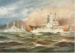 Navi Militari In Navigazione, Riproduzione B35, Reproduction - Guerra