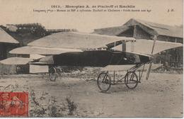 MONOPLAN  A DE PISCHOFF ET KOECHLIN - ....-1914: Precursors