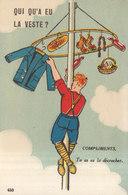 HUMOUR / MAT DE COCAGNE    ///   REF  JUIN .19   // REF N° 8990 - Humor