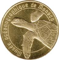 98 MONACO MUSÉE OCÉANOGRAPHIQUE TORTUE MÉDAILLE MONNAIE DE PARIS 2019 JETON MEDALS TOKENS COINS - 2018
