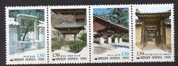 COREE DU SUD  Timbres Neufs  De 1995  ( Ref 6540 ) Architecture - Corée Du Sud