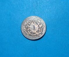 Ottoman Turkey 1 Para 1255 A.H. (1837) Year 16, Copper UNC - Turkije
