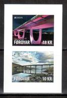 Färöer / Faroer / Féroé 2018 Satz Aus MH/set From Booklet EUROPA ** - 2018
