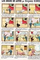 CPA Les Bulles De Savon Enfants Animaux Chien Chat Cochon Illustrateur B. RABIER (2 Scans) - Rabier, B.
