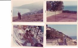 OSPEDALETTI - IMPERIA - LOTTO DI 8 FOTO DEL 1970 CON DIDASCALIA - Luoghi