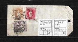 MISCHFRANKATUR → SBK-72E/75E/64B Auf Begleitadresse ZKB-Geldsendung Frs. 10'000.- - Briefe U. Dokumente