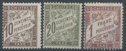Lot N°49837  N°29-31-40, NEUF Sans Gomme - Postage Due