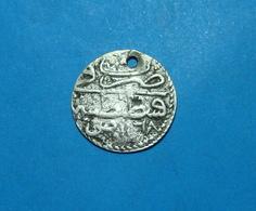 Ottoman Turkey 1 Para 1168 A.H. (1750) Year Symbol, Silver Constantinopole Mint, RARE - Turkije