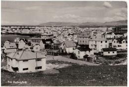 Ak Frá Hafnarfiroi, Ortsansicht, Ungelaufen, Um 1958 (18f) - Island