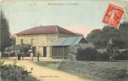 69 - ENV DE COURS - Le Pavillon (couleur 1910) - Cours-la-Ville