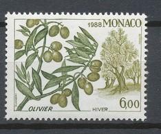 TIMBRE - MONACO - 1988 -  ISSU BF43 - Neuf - Ongebruikt