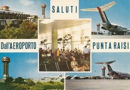 AEROPORTO-AEROPORT-AIRPORT-FLUGHAFEN-PUNTA RAISI-PALERMO-ITALIA-CARTOLINA VERA FOTOGRAFIA-NON VIAGGIATA - Aerodromes