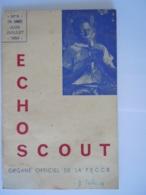ECHO SCOUT N° 5 1954 Organe Officiel De La F.E.C.C.B. Scoutisme En Congo Belge 24 Pages - Books, Magazines, Comics