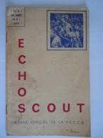 ECHO SCOUT N° 4 1954 Organe Officiel De La F.E.C.C.B. Scoutisme En Congo Belge 24 Pages - Books, Magazines, Comics