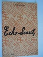 ECHO SCOUT N° 3 1955 Organe Officiel De La F.E.C.C.B. Scoutisme En Congo Belge 24 Pages - Books, Magazines, Comics