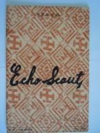 ECHO SCOUT N° 4 1955 Organe Officiel De La F.E.C.C.B. Scoutisme En Congo Belge 28 Pages - Autres