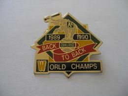 OAKLAND A's WORLD CHAMPS 1989 1990 BASEBALL - Baseball