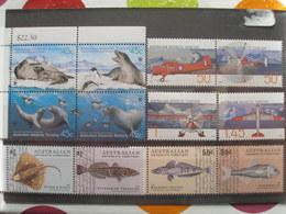 TERRITOIRE ANTARTIQUE AUSTRALIEN - Petit Lot De Neufs ** - Poissons, Animaux Marins, Avions - Unused Stamps