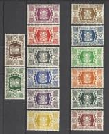 Wallis Et Futuna N° 133 à 146 Neufs * * TB           Soldé à Moins De 20 % ! ! ! - Unused Stamps