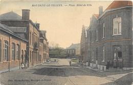 Montigny-le-Tilleul NA17: Place. Hôtel De Ville 1907 - Montigny-le-Tilleul