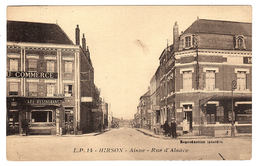 HIRSON (02) - Rue D' Alsace - Ed. L. P. 14 - Hirson
