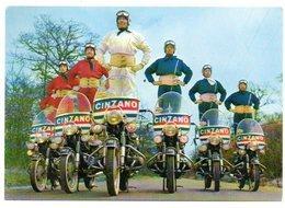 Publicité /  Les Motards CINZANO, L'attraction N° 1 Du Tour De France. - Publicité