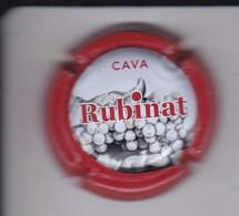 PLACA DE CAVA RUBINAT (CAPSULE) - Sparkling Wine