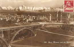 Suisse. CPA. Bern. Museum Und Die Alpen - BE Berne