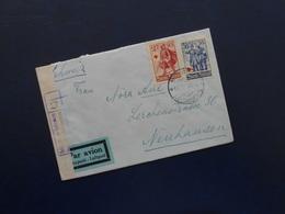 Finnland - Luftpost Brief Von Helsingfors Nach Neuhausen CH - Kriegszensur - 11.lll.40 - Luftpost