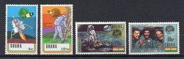 GHANA  Timbres Neufs ** De 1970  ( Ref 6543  )  Espace - Apollo - Ghana (1957-...)