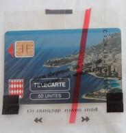 Télécarte Le Rocher De Monaco 50 Unités 8/89 Flèche Rouge SC3 - Monaco