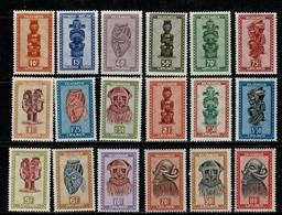 Ruanda Urundi 1948/49 OBP/COB 154/55**, 158/72**, 173/75** MNH (2 Scans) - 1948-61: Neufs
