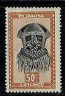 Ruanda Urundi 1948/49 OBP/COB 171** MNH - Ruanda-Urundi