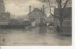Bourges Inondations Du 11 Janvier 1910 Rue Du Pre D'eau - Bourges