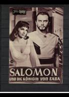Neues Film Programm , Nr.1804 , 1960 , - Salomom Und Die Königin Von Saba - Magazines