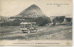 - 07 -ARDECHE-MONT GERBIER Des JONCS - La Montée De L'Autobus Du Vivarais - France