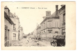 CORBENY (02) - Rue De Laon - Ed. Fouquet - Autres Communes