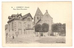 CORBENY (02) - Place Désiré Manceaux  - Ed. Fouquet - Autres Communes