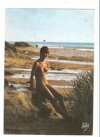 Femme Nue - Cote Atlantique - Nue Artistique Sur La Plage - Nus Artistiques (1960-…)
