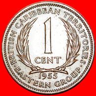 + GREAT BRITAIN (1955-1965): EAST CARIBBEAN TERRITORIES ★ 1 CENT 1955! LOW START ★ NO RESERVE! - Oost-Caribische Staten