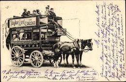 Cp England, Doppelstöckige Pferdebahn, Taylor Bros. Cocoa - Tramways