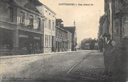 Dottignies NA4: Rue Albert 1er 1926 - Moeskroen