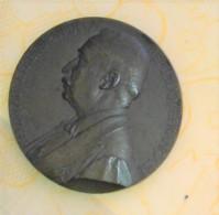 MEDAILLE ORGINALE FELIX FAURE Président De La République Signé J.C. CHAPLAIN 1897 - Autres
