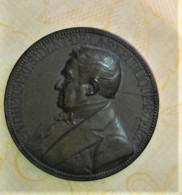 MEDAILLE ORGINALE L. A.  THIERS  Président De La République Française  1871-1873 Signé OUDINE - Autres