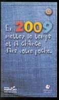 Grattage FDJ - FRANCAISE DES JEUX - Calendrier De Poche 2009 - Lottery Tickets